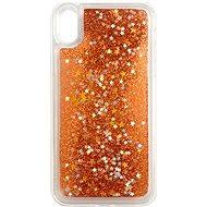 iWill Glitter Liquid Star Case für Apple iPhone XR Rosegold - Handyhülle