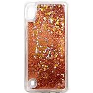 iWill Glitter Liquid Star Case für Samsung Galaxy A10 Roségold