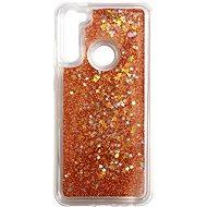 iWill Glitter Liquid Star Case für Xiaomi Redmi Note 8T Roségold - Handyhülle