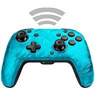 PDP Faceoff Wireless Controller - blaue Tarnung - Nintendo Switch - Gamepad