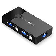 Ugreen 2 In 1 Out VGA + USB-B + USB-A KVM Switch Black - Switch