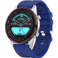 WowME Roundswitch silber/blau - Smartwatch