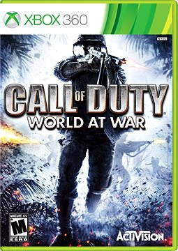 Call Of Duty: World At War - Xbox 360-Spiel