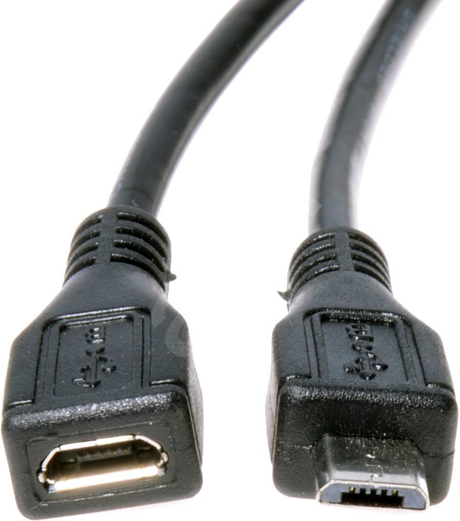 premiumcord micro usb 2 0 verl ngerung 2 m kabel. Black Bedroom Furniture Sets. Home Design Ideas