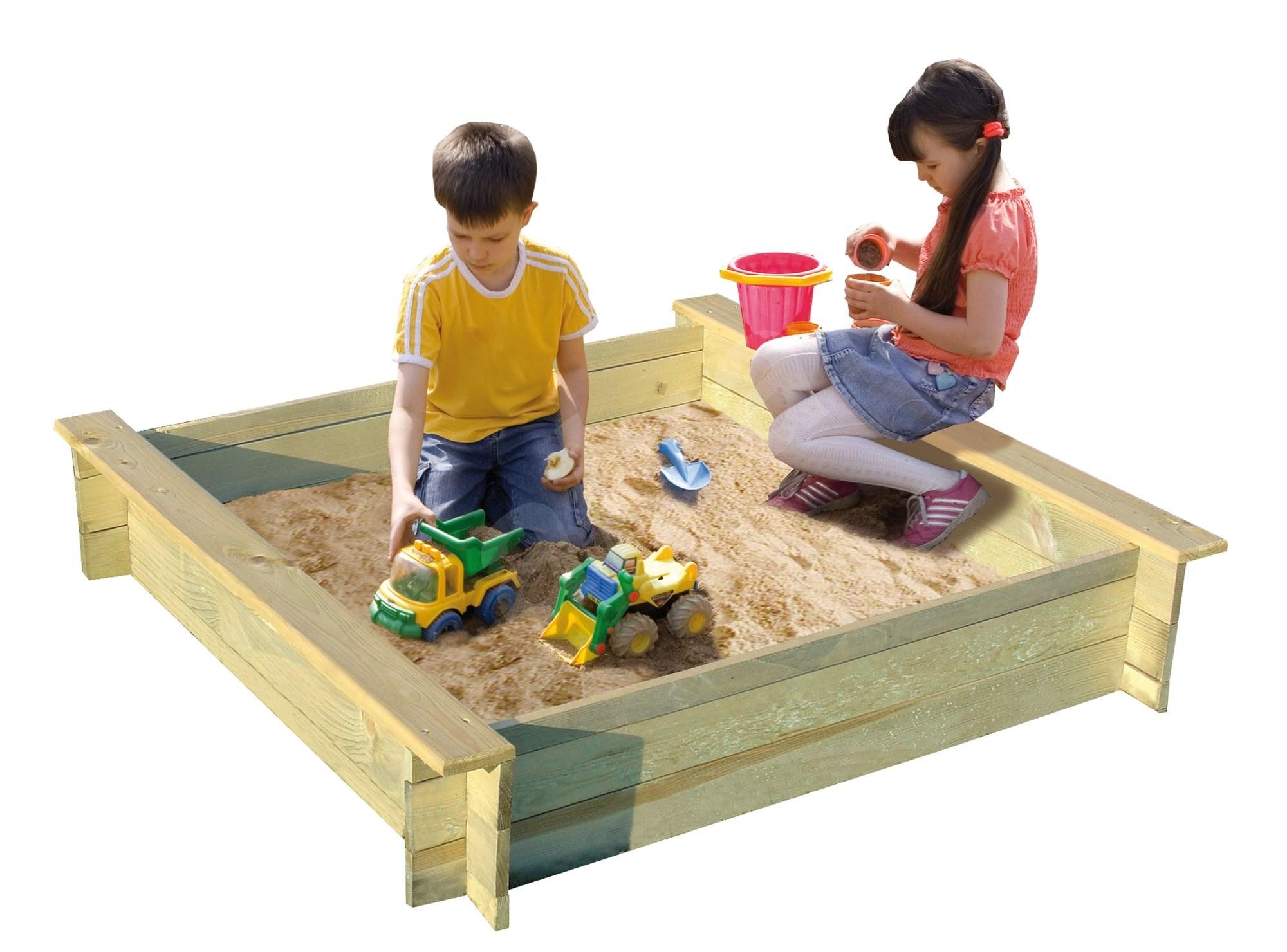 alix aus holz mit abdeckung sandkasten sandkasten. Black Bedroom Furniture Sets. Home Design Ideas