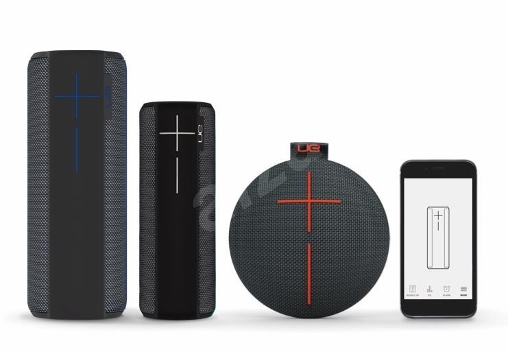 logitech ultimate ears megaboom charcoal black bluetooth lautsprecher. Black Bedroom Furniture Sets. Home Design Ideas