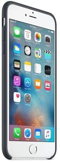 handyh lle apple iphone 6s plus silikon h lle anthrazit. Black Bedroom Furniture Sets. Home Design Ideas
