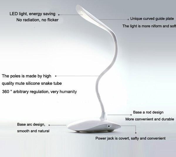 led lampe mit batterie lampe. Black Bedroom Furniture Sets. Home Design Ideas