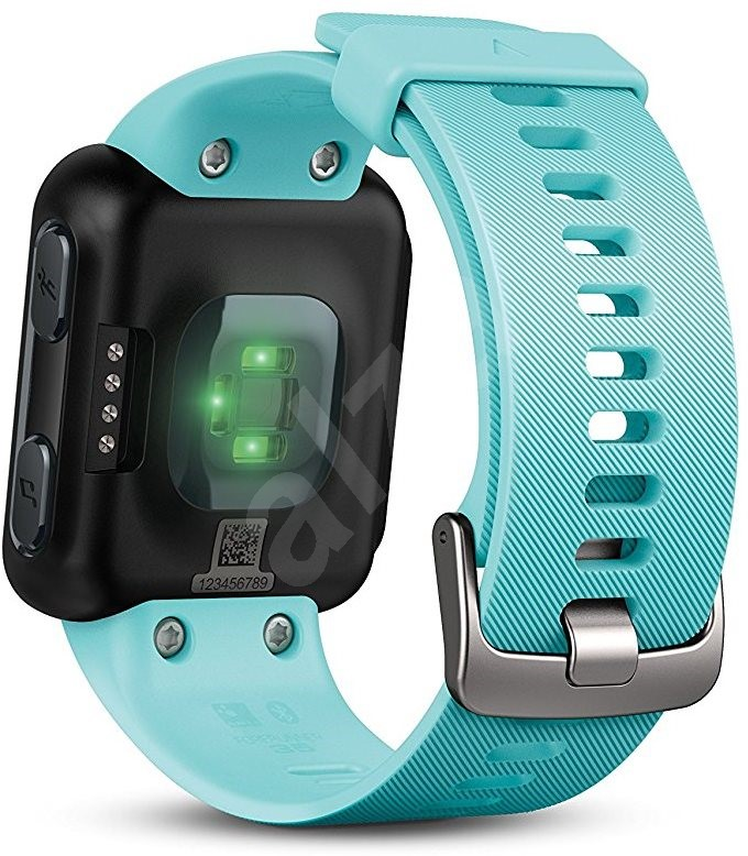 garmin forerunner 35 frost blau smartwatch. Black Bedroom Furniture Sets. Home Design Ideas