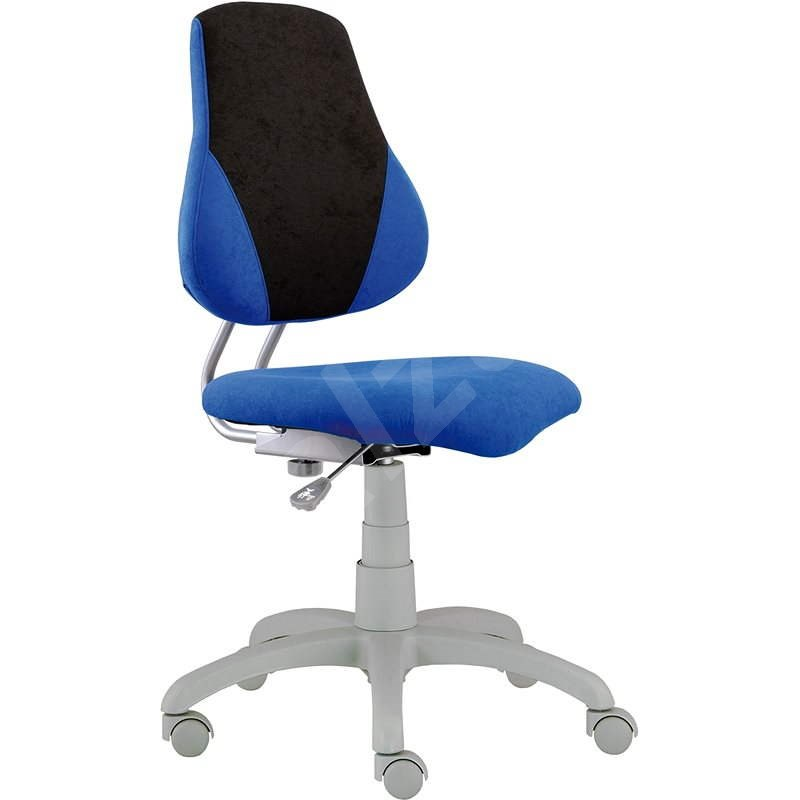ALBA Fuxo V-line Schreibtischstuhl für Kinder - blau / grau - Kinderstuhl