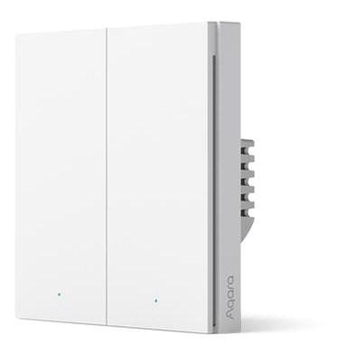 AQARA Smart Wall Switch H1 (kein Neutralleiter, Doppelschalter) - Schalter