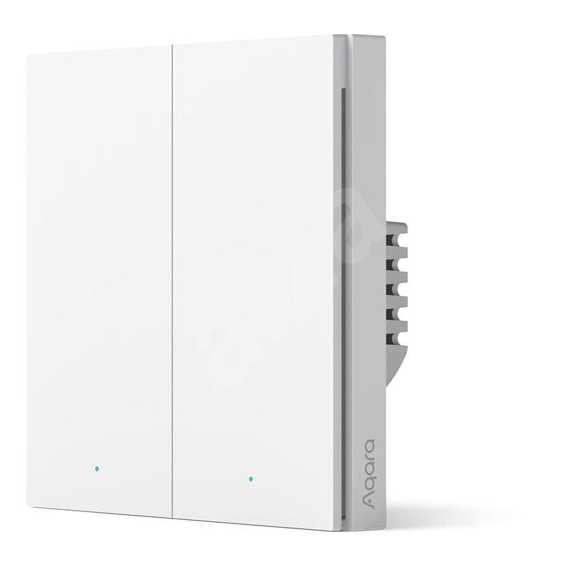 AQARA Smart Wall Switch H1(With Neutral, Double Rocker) - Doppelschalter - Schalter