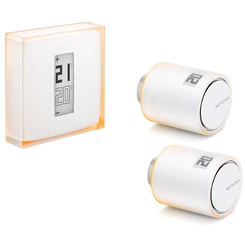 Netatmo Thermostat + 2x Netatmo Heizkörperventile - Set