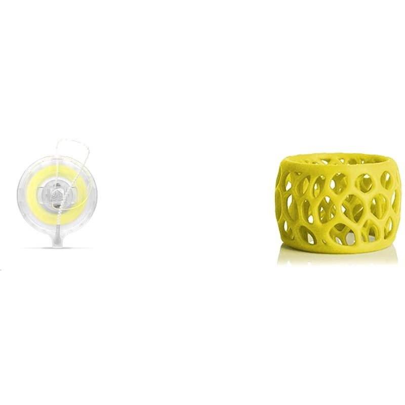 3D Systems Cube Gen3 PLA Gelb Patronen - 3D Drucker Filament
