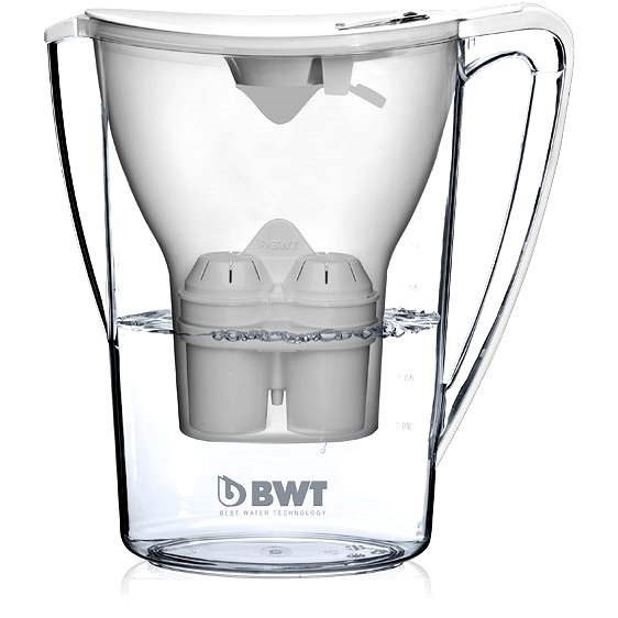 BWT Penguin 2,7 Liter weiß + Glaskaraffe kostenlos - Filterkanne