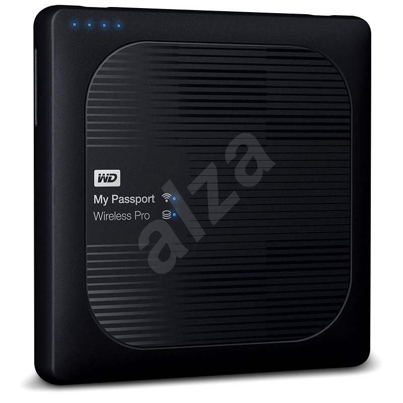 "WD 2.5"" My Passport Wireless Pro 2TB, schwarz - NAS Datenspeicher"