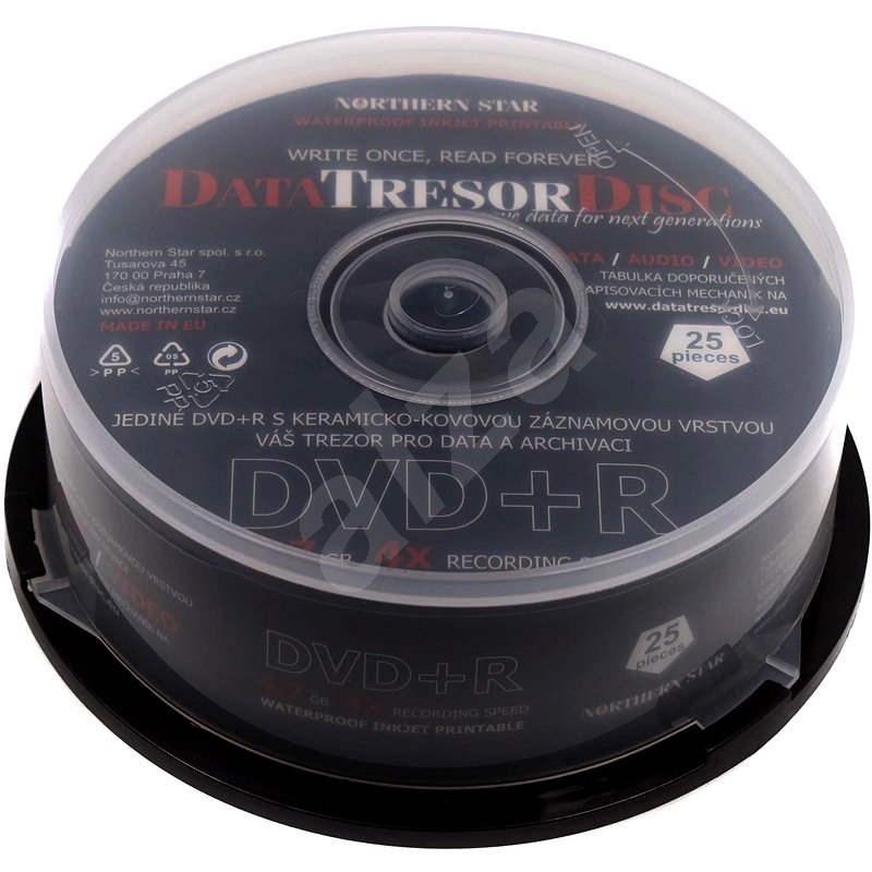 DATA TRESOR DISC DVD + R Printable 25pcs cakebox  - Media