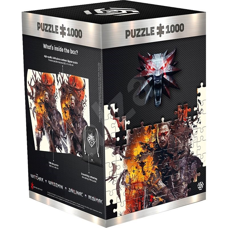The Witcher: Monster - Good Loot Puzzle - Puzzle