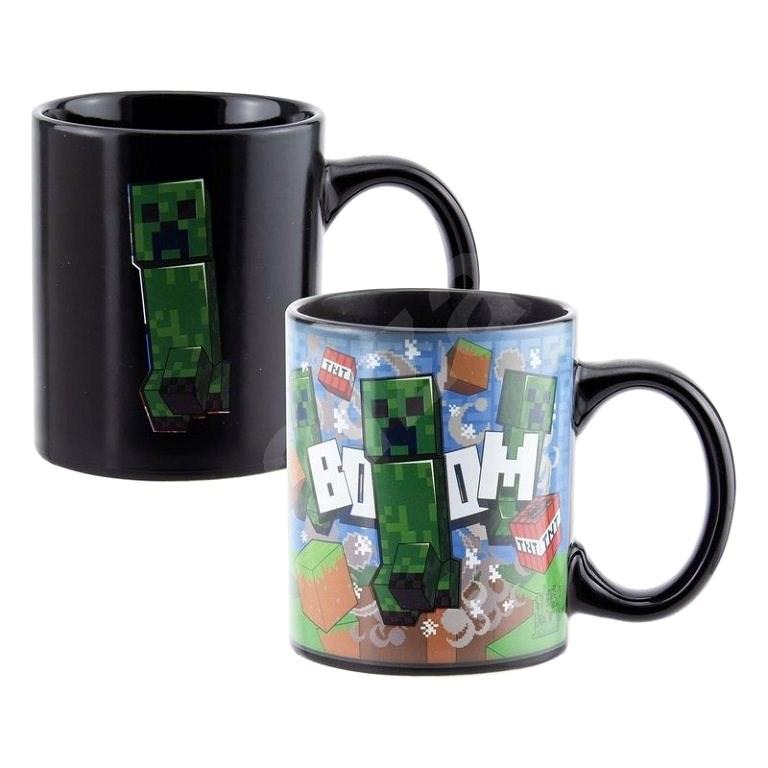 Minecraft - Creeper - Magischer Becher - Tasse