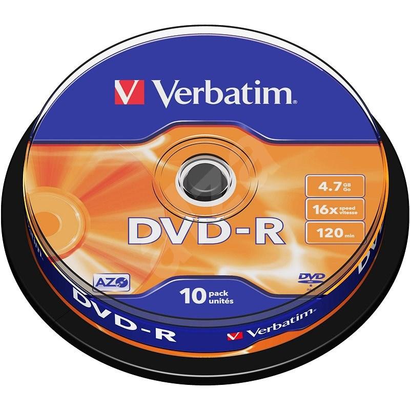 Verbatim DVD-R 16x, 10er Spindel-Box - Media