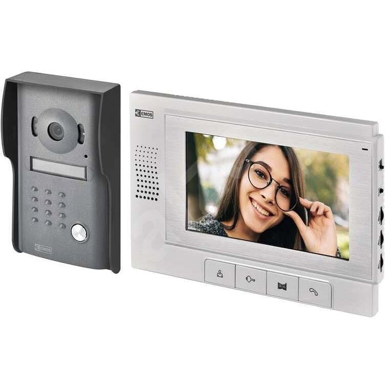 Emos H1011 Video-Sprechanlage-Set - Videotelefon