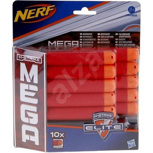 Nerf Mega Gun Zubehör - Ersatz Darts 10Stk - Zubehör zur Nerf-Pistole