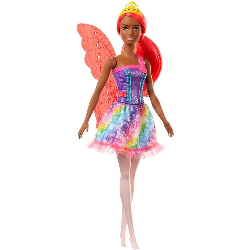 Barbie Magische Fee mit orangefarbenen Haaren - Puppe