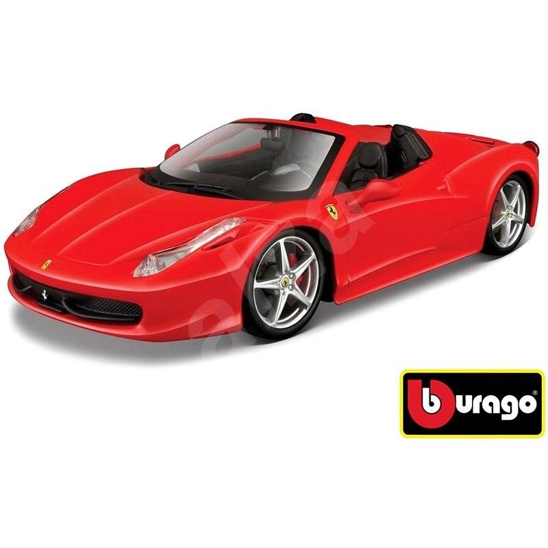 Bburago Modellauto Ferrari 458 Spider Red Automodell Alza De