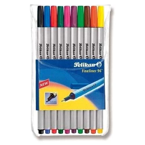 Pelikan Fineliner 96 10 Farben - Filzstifte