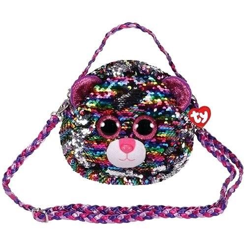 Ty Fashion Sequins Handtasche mit Pailletten DOTTY - Leopard - Stoffspielzeug