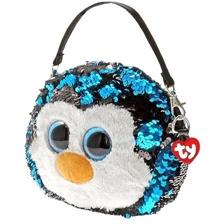 Ty Fashion Sequins Glitzer Handtasche WADDLES - Pinguin - Stoffspielzeug