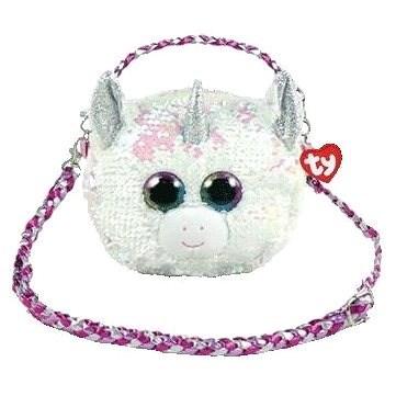 Ty Fashion Sequins Glitzer Handtasche DIAMOND - Einhorn - Stoffspielzeug