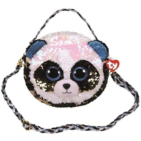 Ty Fashion Sequins Handtasche mit Pailletten BAMBOO - Panda - Stoffspielzeug