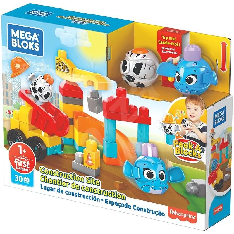 Mega Bloks Peek und Bloks Baustelle - Bausatz