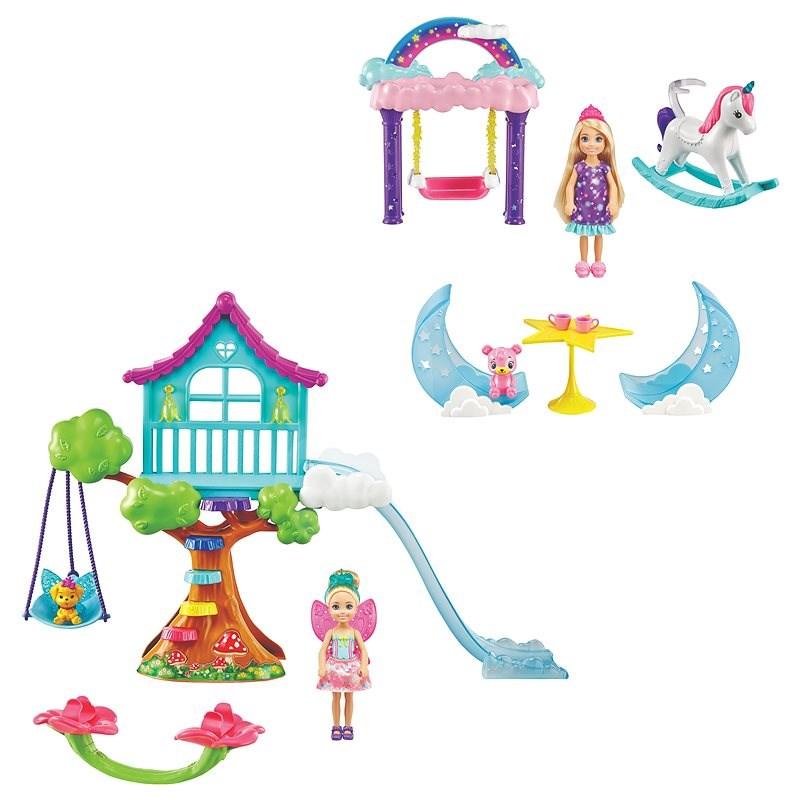 Barbie Chelsea Spiel-Set - Puppen