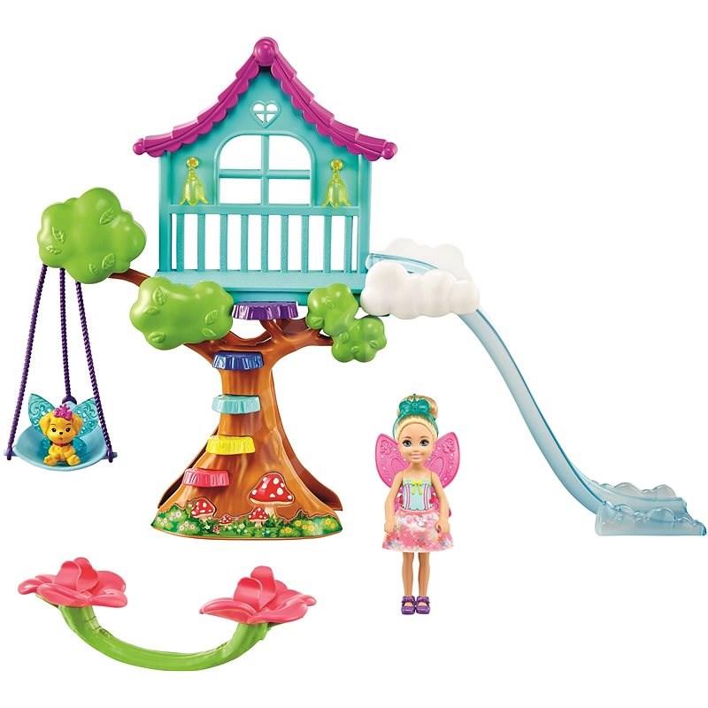 Barbie Chelsea mit Baumhaus - Puppen