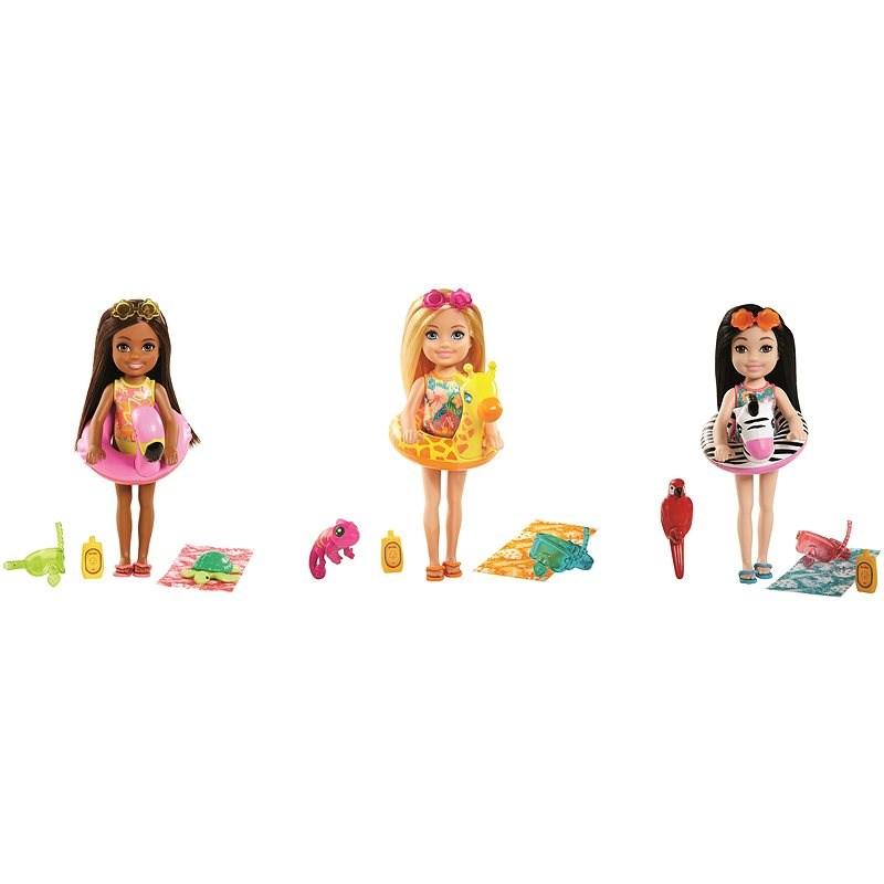 Barbie Dha Chelsea Strandausrüstung - Puppen