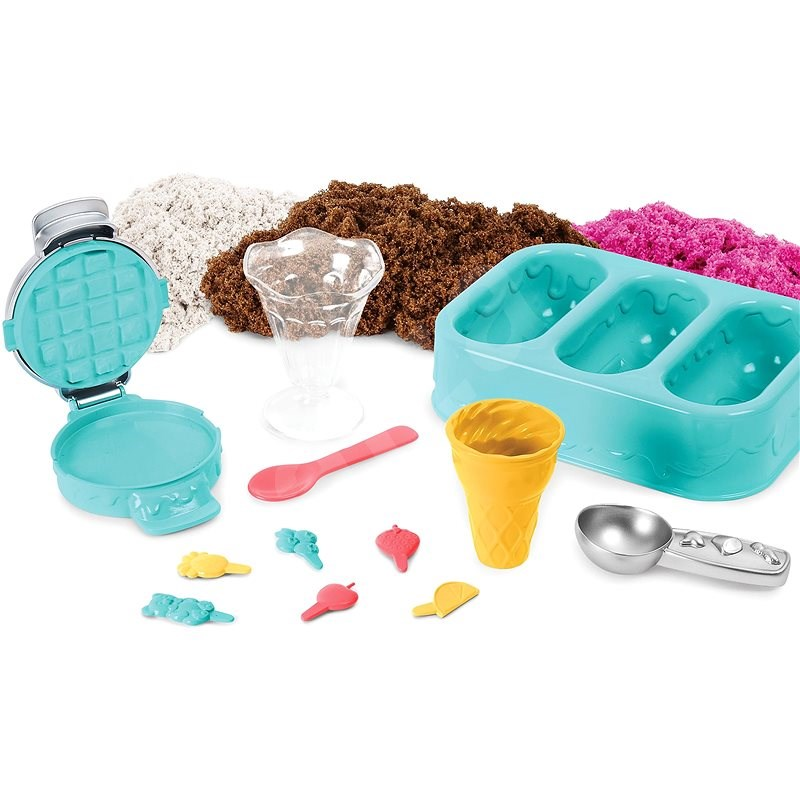 Kinetic Sand Fragrant Scoop Ice Cream - Kinetischer Sand