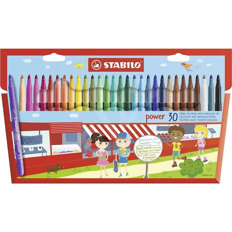 STABILO power 30 pcs case - Felt Tip Pens