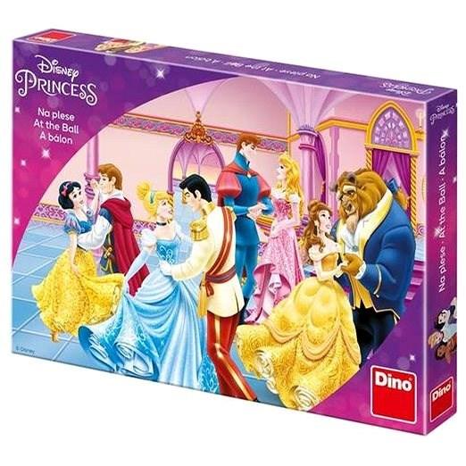 Dino-Prinzessinnen mit Ball - Kinderspiel - Tischspiel