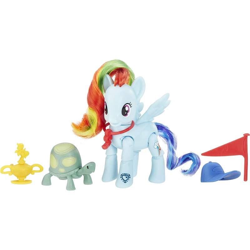 My Little Pony Pony Rainbow Dash und Zubehör - Figur
