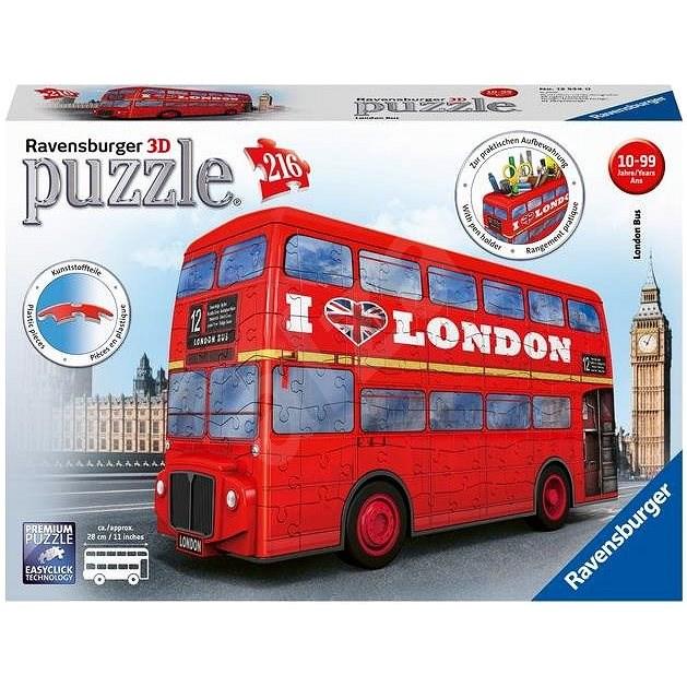 Ravensburger 3D Puzzle 125340 London Bus - 3D Puzzle
