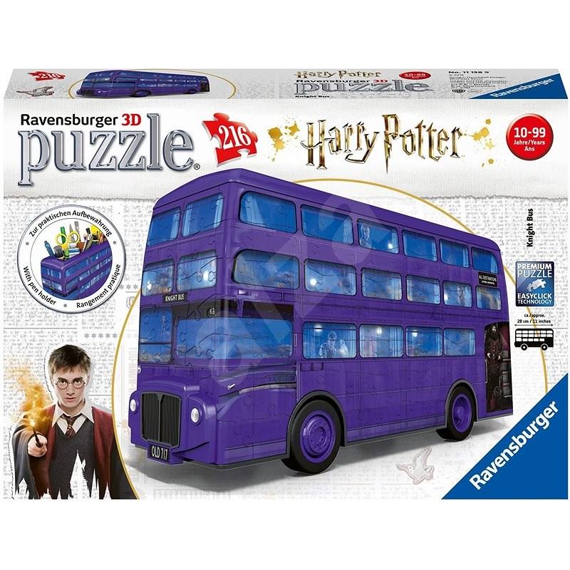 Ravensburger 3D 111589 Harry Potter Ritterbus - 3D Puzzle