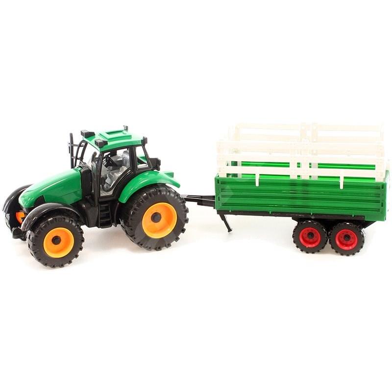 Auto Traktor mit Hänger - Auto