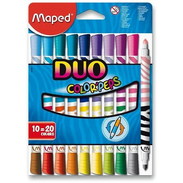 Maped Color Peps Duo, 20 Farben - Filzstifte