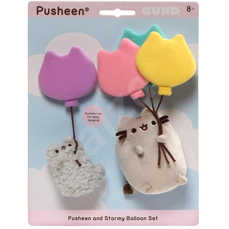 Pusheen and Stormy Baloon set - Stoffspielzeug
