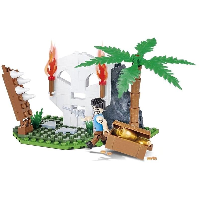 Cobi 6012 Pirates Skull Island - Bausatz