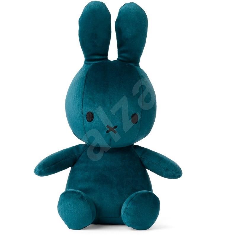 Plüschtier Miffy Hase Velvetine Opal Blue - 23 cm - Stoffspielzeug