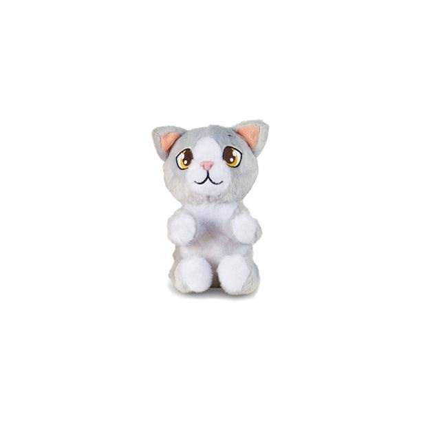 Mini Tickles Katze grau - Tier