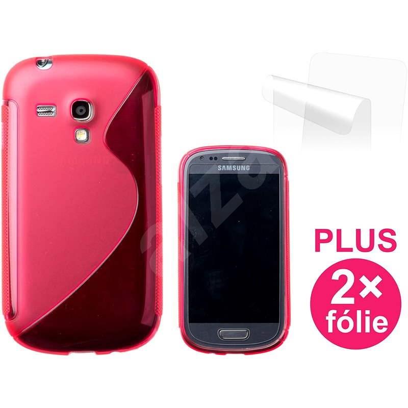 CONNECT IT S-Cover Samsung Galaxy S III Mini (i8190) rot - Schutzhülle